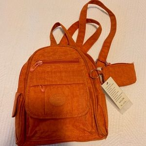 Small orange backpack from H&B collections